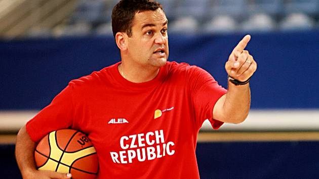 PAVEL BUDÍNSKÝ - trenér české reprezentace a BK Děčín.