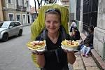 Salchipapas je také výborné jídlo z ulice