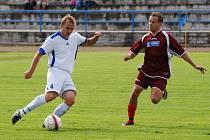 RUMBURK (ve fialovém) remizoval 2:2 s týmem SK Březiny.