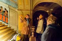 Během večerních prohlídek Lorety se navštíví i kaple Svatých schodů.