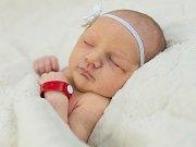 Alžběta Vojnarová se narodila Marii a Petru Vojnarovým 10. 1. v 8.26. Vážila 3,07 kg a měřila 51 cm.