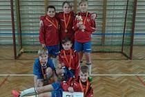 TÝM SK DĚČÍN vyhrál turnaj ve Verneřicích.
