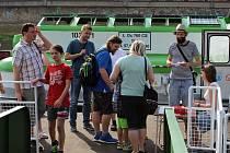 Remorkér Beskydy se poprvé otevřel veřejnosti.