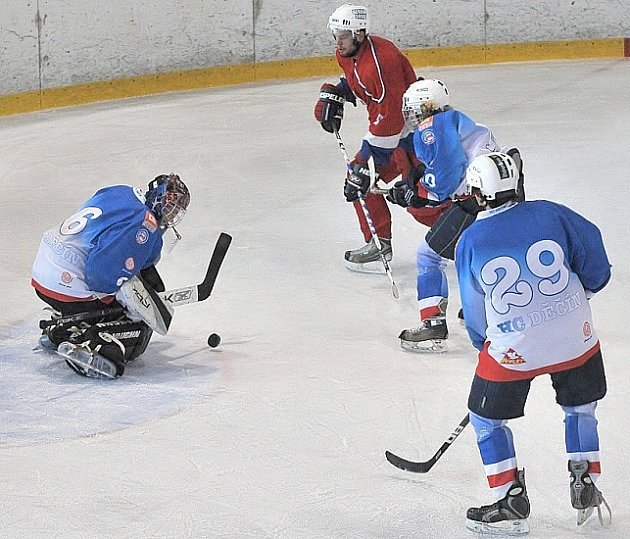 Ligoví junioři a dorostenci HC Děčín ukončily rok 2008.