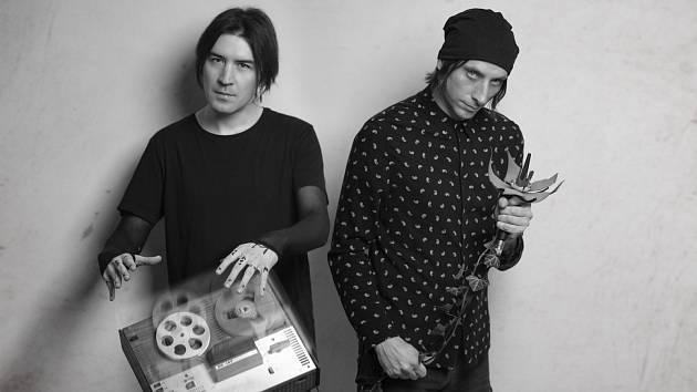 Skupina Munroe, kterou tvoří Jan Kunze a Vladimír Jaške.