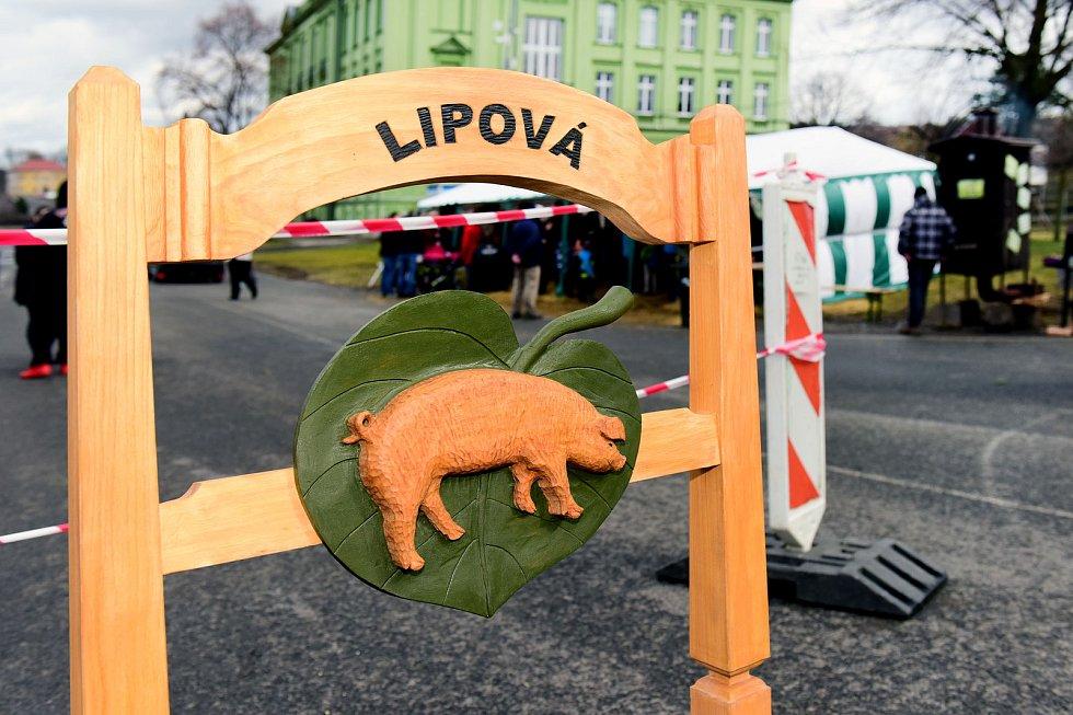 Zabijačka v Lipové na Šluknovsku.