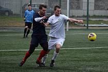 Fotbalisté Junioru Děčín sehráli na jaře jediný zápas, když doma porazili Bohušovice.