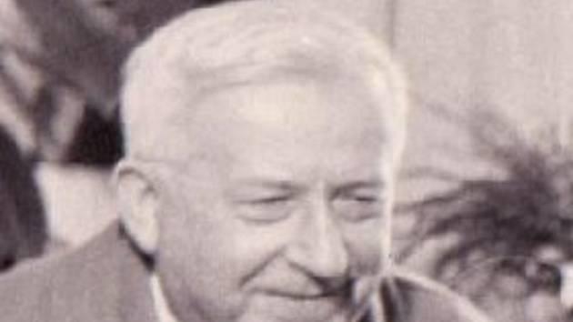 Spoluzakladatel učňovského školství v Děčíně Bohuslav Jindra,