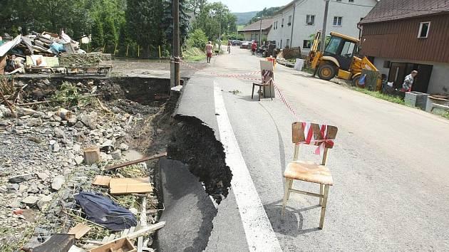 Škody na silnicích půjdou do stovek milionů korun