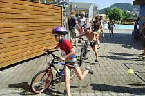 O dětský triatlon byl zájem