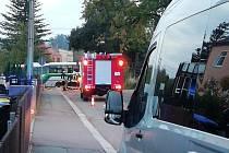 Nehoda v Německu.