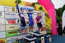 TOUR DE FEMININ 2017 - snímky z druhé etapy, která startovala i končila v Jiříkově.