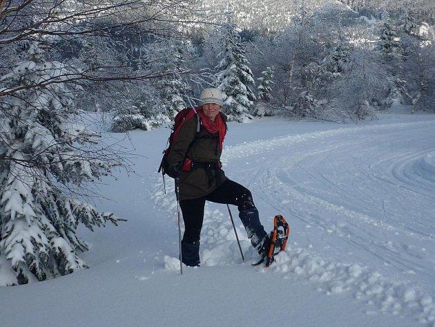 Obujte sněžnice a vyrazte do zimní krajiny Českého Švýcarska.
