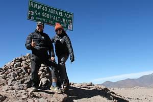 Cestovatelé z Krásné Lípy v Argentině.