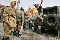 Vojenští veteráni potěšili o víkendu Rumburk.