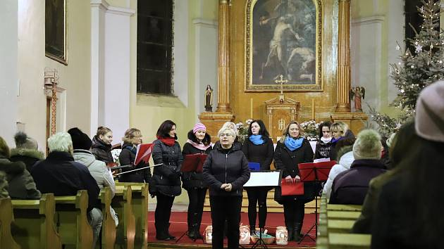 Tříkrálový koncert v Rumburku.