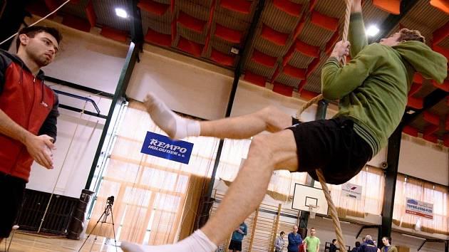 VARNSDORF hostil Velkou cenu v olympijském šplhu.