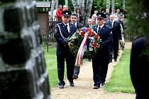Lidé uctili v Rabštejně památku obětí války.