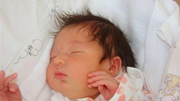Lence Sulové z Varnsdorfu se 4.ledna v 1.45 v rumburské porodnici narodila dcera Karolína.Měřila 50 cm a vážila 3 kg.