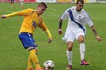 PARÁDA! Varnsdorf (ve žlutém) vyhrál ve Frýdku-Místku 1:0.