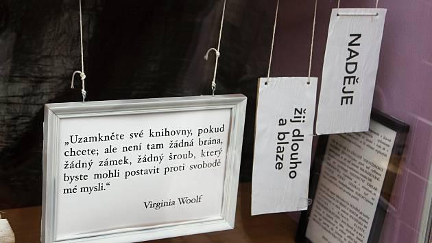Výstava Slova, která chybí.