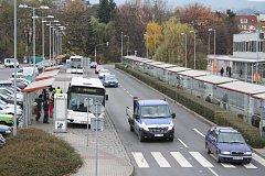 Městská hromadná doprava v Děčíně.