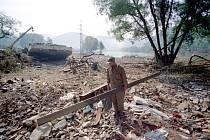 Povodeň 2002 Těchlovice