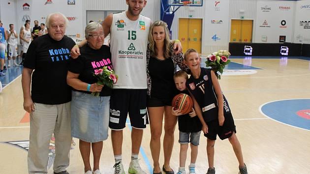 Jakub Houška se jako hráč rozloučil s děčínskými fanoušky.
