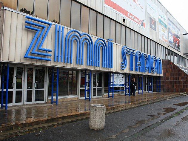 Zimní stadion vDěčíně.