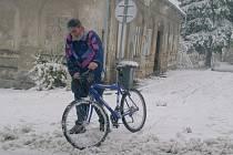 Říjnový sníh způsobil problémy zejména na Šluknovsku