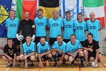 SK JÍLOVÉ – vicemistr Evropy v sálové kopané hráčů nad 40 let.