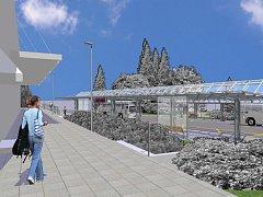 Jak bude vypadat autobusové nádraží ve Varnsdorfu po rekonstrukci.