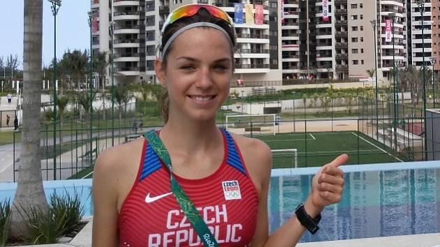 ANEŽKA DRAHOTOVÁ na olympiádě v Brazílii.