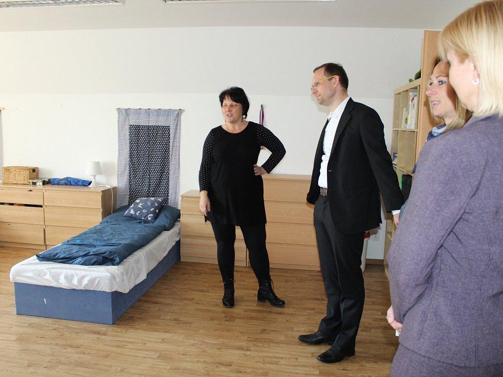 Dětský domov Země dětí v České Kamenici.