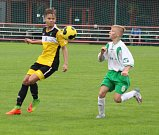 MLADŠÍ DOROSTENCI Junioru Děčín nestačili na Fotbalovou Farmu Roudnice nad Labem.