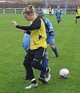 BENEŠOVŠTÍ dorostenci (ve žlutém) prohráli s Doksy na penalty.