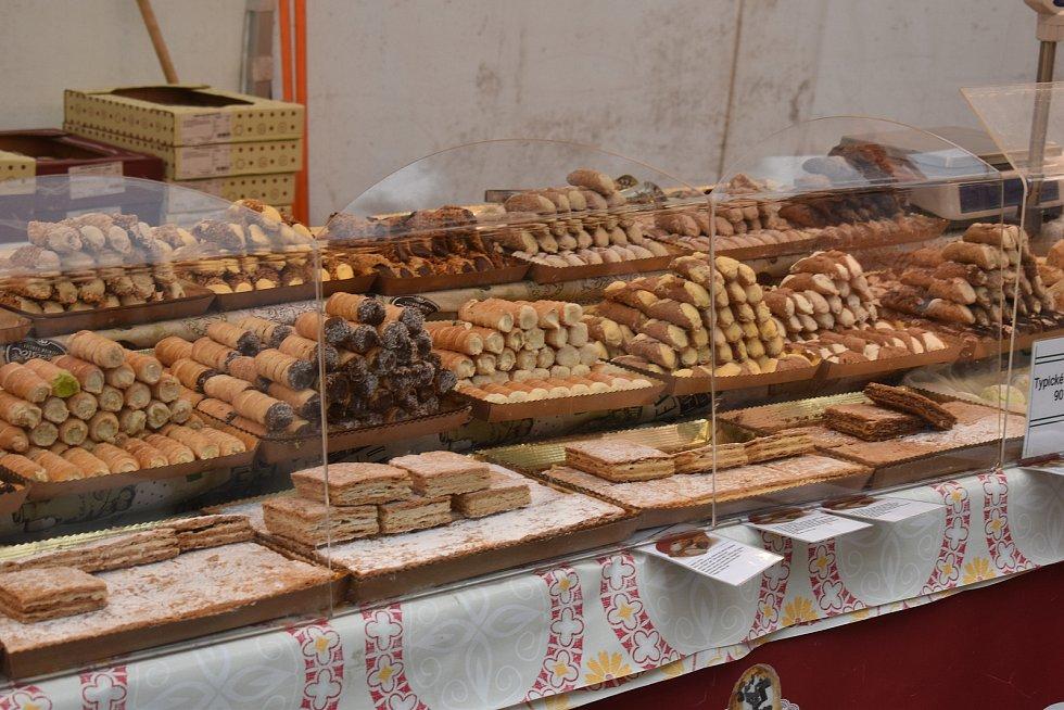 Italské trhy v Děčíně.