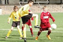Mladší žáci: Junior Děčín – Sparta Praha B