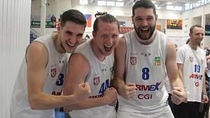 Sport basketbal NBL Děčín - Opava sedmý duel