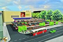 NOVÉ PARKOVIŠTĚ. Již na podzim letošního roku by mělo mít parkoviště u obchodního domu Korál novou podobu. Díky tomu zde  bude téměř čtyřikrát více parkovacích míst než doposud.