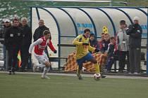 Podzimní část zakončil Slovan Varnsdorf  duelem se Slavií B.