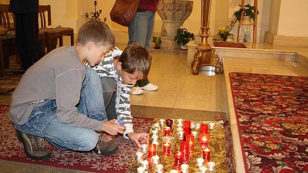 Během Noci kostelů v květnu 2011 se otevřely desítky svatostánků.