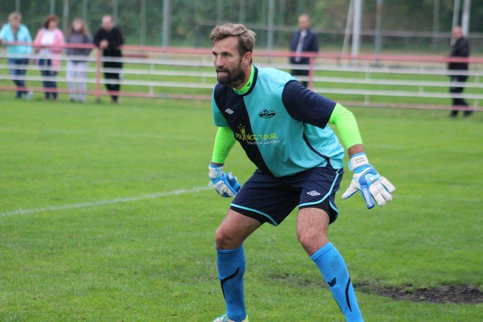 RADIM NOVÁK naposledy chytal za FK Junior Děčín.