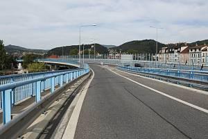 Nový most v Děčíně. Ilustrační foto