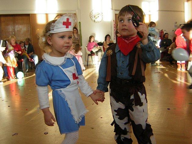 Děti si užily karneval