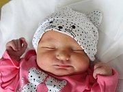 Lucie Kořínková se narodila Kateřině Kořínkové z Krásné Lípy 2. prosince v 10.35. Vážila 3,59 kg.