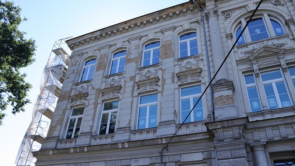 Rekonstrukce školy v Karlově ulici ve Varnsdorfu.