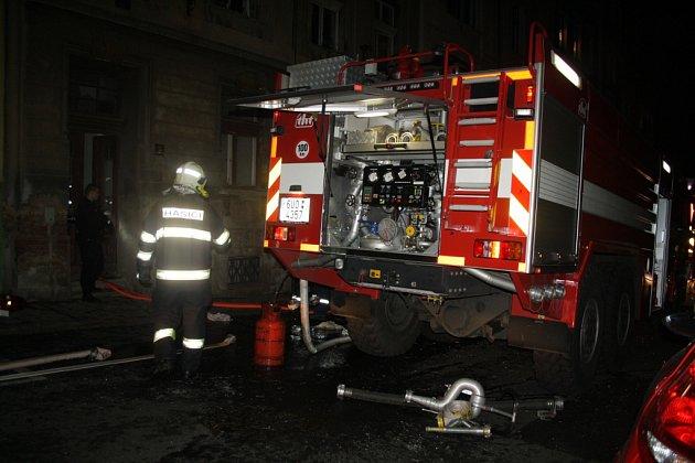 Děčínem otřásl v pondělí výbuch plynu.