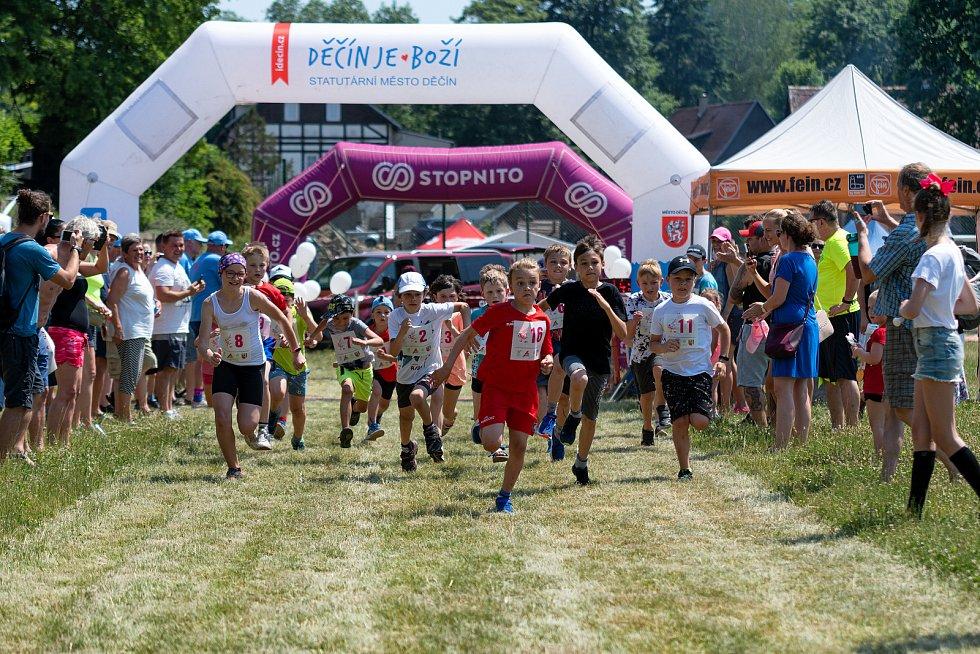 Závod Růžovský panter
