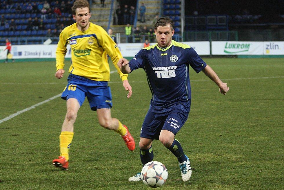 DEBAKL. Varnsdorf prohrál ve Zlíně vysoko 0:6.